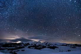 Image result for winter night sky