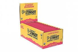 honey stinger organic energy chews box