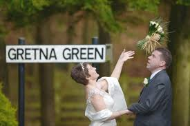 valentine weddings at gretna green in