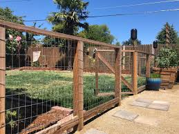Diy Hog Wire Garden Fence Our Liberty House