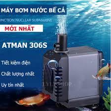 Bộ Lọc Hồ Cá Koi, Máy Bơm Nước Bể Cá AT-306S, Máy Bơm Mini Cao Cấp Dành Cho Bể  Cá Cảnh KN99152, Mẫu Mới 2018, Công Suất Cực Mạnh, Sử Dụng Cực