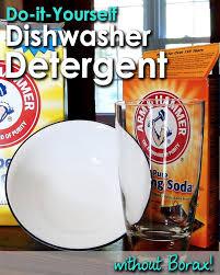 diy dishwasher detergent without borax