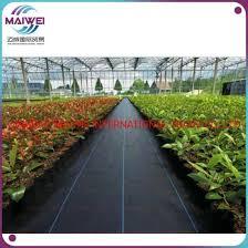 garden plastic pp pe weed control mat