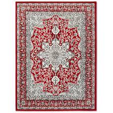 red grey area rug reviews wayfair ca