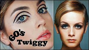 twiggy 60s makeup tutorial mod