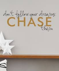 Wall Quotes By Belvedere Designs Black Gold Chase Your Dreams Wallquotes Decal Best Price And Reviews Zulily