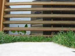 Outdoor Decorating Gardening Louvered A C Fence I Adore This Design Cant See The Air Conditioner When You A Decor Object Your Daily Dose Of Best Home Decorating Ideas Interior