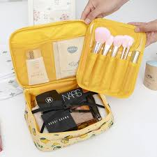 cosmetic bag travel function makeup
