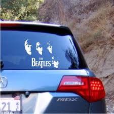 The Beatles Vinyl Decal Sticker Texas Die Cuts
