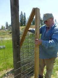 Homemade Fence Puller Easy Fence Backyard Fences Fence