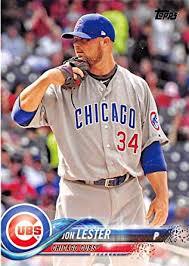 Amazon.com: 2018 Topps #266 Jon Lester Chicago Cubs Baseball Card ...