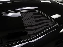Dodge Challenger Distressed American Flag Window Decals Ztr Graphicz