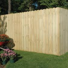 Outdoor Essentials 5 8 In X 6 In X 6 Ft Dog Ear Brazilian Pine Fence Picket 10 Pack 344288 The Home Depot