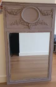 french style trumeau mirror in