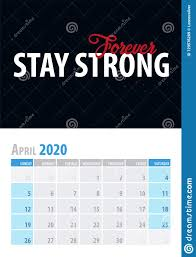 calendar planner motivational quote on black