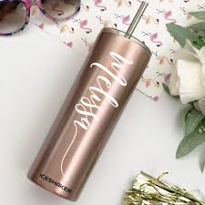 Rose Gold Stainless Steel Tumbler Cup Everything Decorated