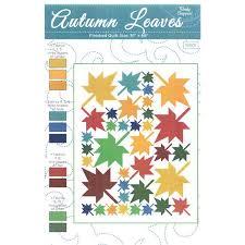 Autumn Leaves Quilt Pattern | Wendy Sheppard #WS01 | Fat Quarter Shop
