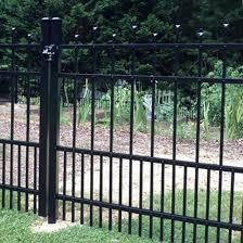 China Black Fence Panel Powder Coated Classic Aluminum Fence Pet Fence Puppy Fence China Fencing Fence