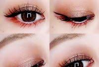 cara makeup natural mata sipit agar