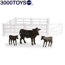 Ertl Toys Cows And Fence Playset Big Farm Made