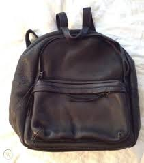 lorimer leather backpack bookbag bag
