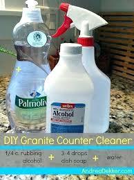 disinfectant for granite countertops