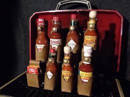 leather hot sauce holsters sauces not