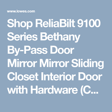 reliabilt 9100 series bethany by
