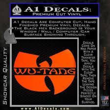 Wu Tang Clan Official Decal Sticker A1 Decals