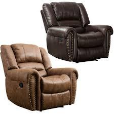 grain leather sofa recliner