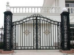 Steel Fence Design For Elegant House Design Fantastic Viewpoint