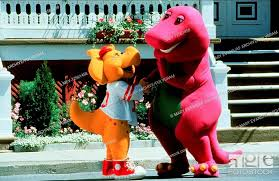 B J & Barney Characters: & Barney Film: Barney'S Great Adventure (1998)  Director: Steve Gomer 30..., Stock Photo, Picture And Rights Managed Image.  Pic. MEV-12561458 | agefotostock