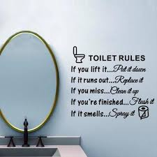 Bathroom Toilet Wall Stickers Prices From 2 Usd And Real Reviews On Joom