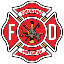 Volunteer Firefigher Maltese Cross Window Decal Police Fire Ems Viny Graphics Stickers Decals Dkedecals