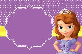 Sofia The First Free Printable Invitations Princesa Sofia