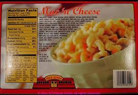 mac n cheese food label pensandpieces