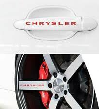 Chrysler Front Car Truck Graphics Decals For Sale Ebay