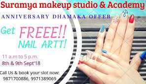 suramya makeup studio and academy