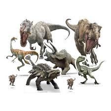 Juego De 6 Invitaciones De Jurassic World Miles De Fiestas
