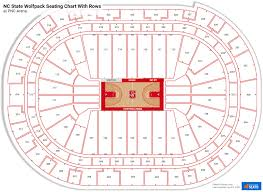 pnc arena seating charts for nc state