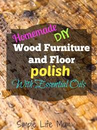 natural wood furniture and floor polish