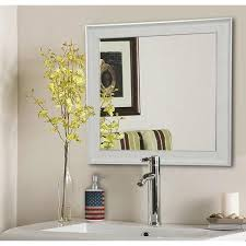 white square vanity wall mirror s056ml