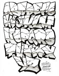wildstyle graffiti letters