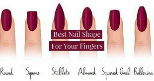best nail shape for short or long