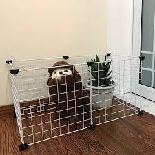 36pcs 10pcs 8pcs Small Pet Pen Bunny Cage Dogs Playpen Indoor Out Door Treka S