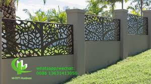 Aluminum Solid Panel Sheet Metal Facade Cladding Fence Bending Sheet 2 5mm Thickness For Railing Decoration