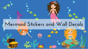 Mermaid Stickers And Decals For Your Walls Cars And More