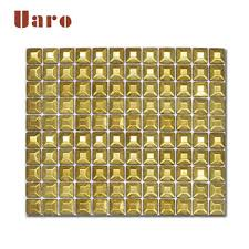 gold foil mosaic wall decoration gold
