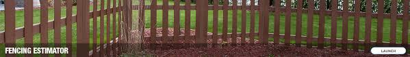 Specrail Metal Fence Post Metal Fencing At Menards