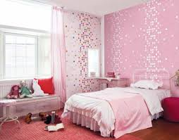 Astonishing Kids Room Pink Wallpaper Girls Bedroom Home Design Light Wooden Closet And Red Rug Also Wonderful Pink Curtain Image Decor Wall Paper Photo Shared By Mose173 Fans Share Images